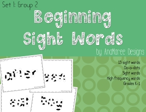 beginning-sight-words
