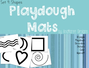 playdough shapes